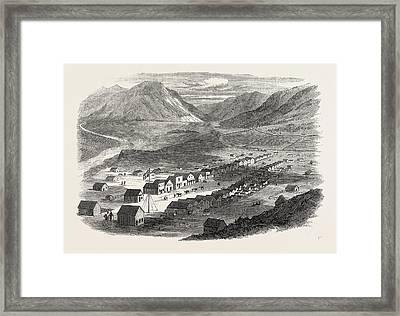 Sketches From British Columbia Lilloett Framed Print