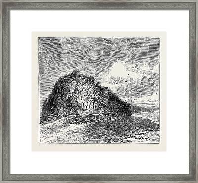 Sketches In The Lipari Islands Faragleone Framed Print