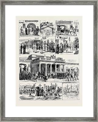 Sketches Of Life At Malta 1. A Maltese Grog-shop Framed Print