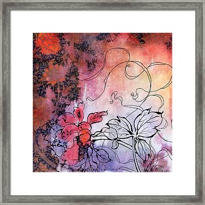 Sketchflowers - Calendula Framed Print by Aimee Stewart