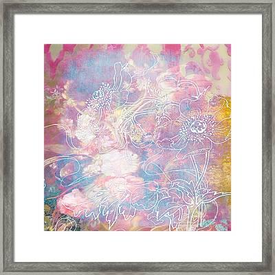 Sketchflowers - Posy Framed Print by Aimee Stewart
