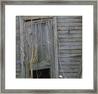 Framed Print featuring the photograph Skewed by Nick Kirby