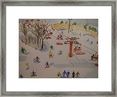 Ski Area Framed Print