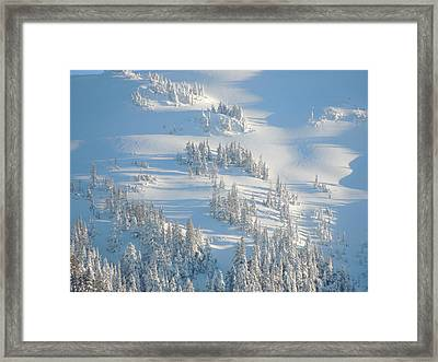 Framed Print featuring the photograph Ski by Karen Horn