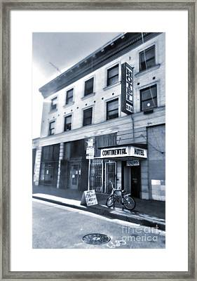 Skid Row Hotel Framed Print by Gregory Dyer