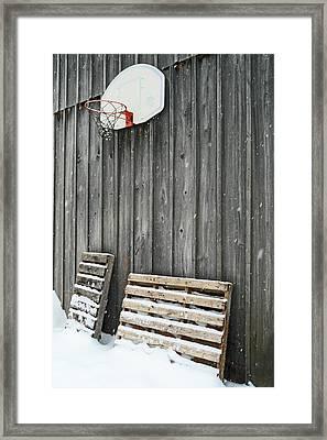 Skid Slam Framed Print by Cyryn Fyrcyd