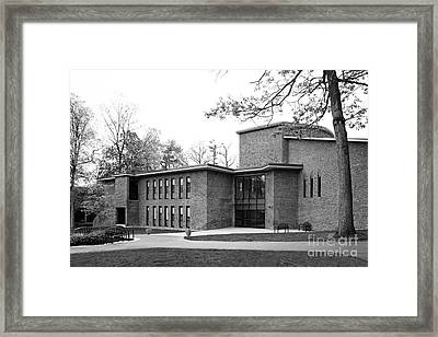 Skidmore College Filene Hall Framed Print by University Icons