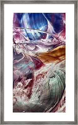 Skies Of Nibiru Crossing The Galactic Equator  Framed Print