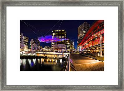 Skies Painted With Unnumbered Sparks Framed Print