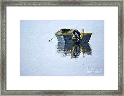 Skiff At Lost Creek Framed Print