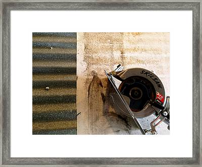 Framed Print featuring the photograph Skil by Paul Foutz