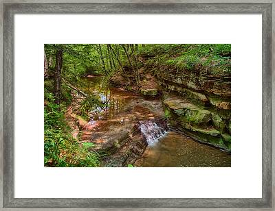 Skillet Creek Framed Print