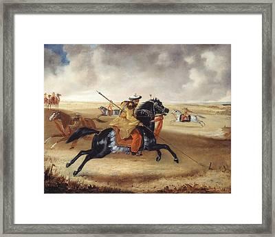 Skinners Horse At Exercise, C.1840 Framed Print by Joshua Reynolds Gwatkin