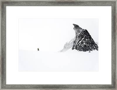 Skinning To Friendship Col Framed Print by Ian Stotesbury