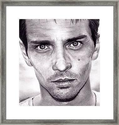 Skinny Pete - Breaking Bad Framed Print by Rick Fortson