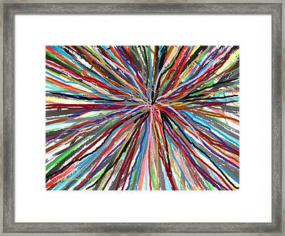 Skipping Ropes  Framed Print by Mudiama Kammoh
