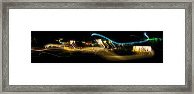 Skirling Lights Framed Print by Brian Gibson