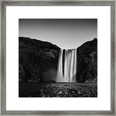 Skogarfoss Framed Print