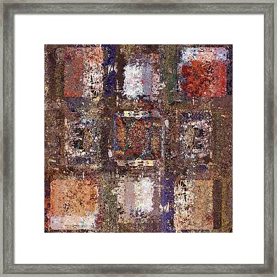 Skouarioz - S04v02 Framed Print by Variance Collections