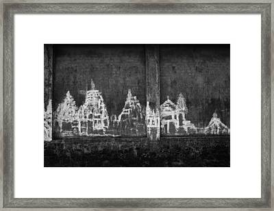 Framed Print featuring the photograph Skc 0003 Temple Complex by Sunil Kapadia