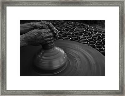 Skc 0133 The Molder Framed Print by Sunil Kapadia