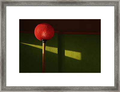Framed Print featuring the photograph Skc 0469 Glow Of Light by Sunil Kapadia