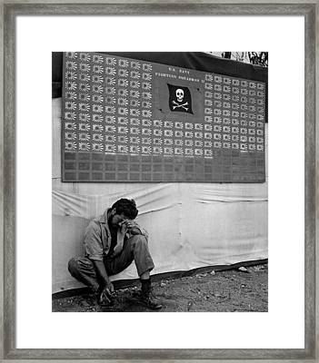 Skull & Crossbones Squadron Scoreboard Framed Print