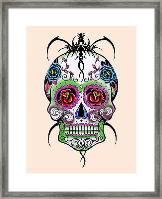 Skull 11 Framed Print
