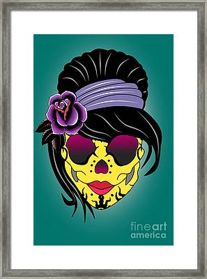 Skull 13 Framed Print