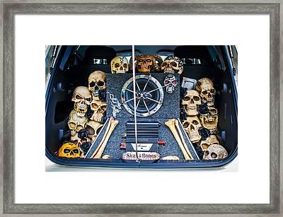Skull And Bones - Pt Cruiser Framed Print by Jill Reger
