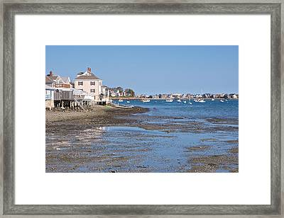Skull Harbor  Hull Mass Framed Print by Gail Maloney