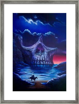 Skull Point Framed Print