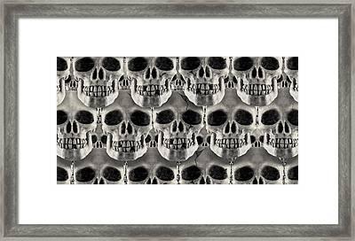 Skulls 1 Framed Print