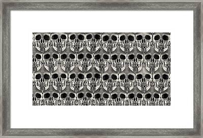 Skulls 2 Framed Print