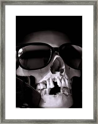 Skully Framed Print