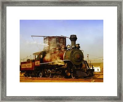 Skunk Train Framed Print