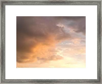 Sky 2 Framed Print