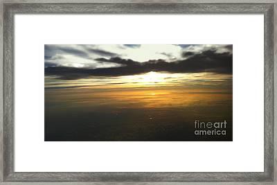 Sky Above Framed Print by Raymond Earley