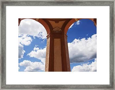 Sky Archs Framed Print by Rostislav Bychkov