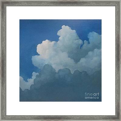 Sky Art Framed Print by Cynthia Vaught