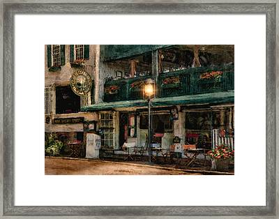 Sky Bar Framed Print