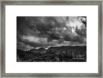 Big Sky Shasta County Framed Print