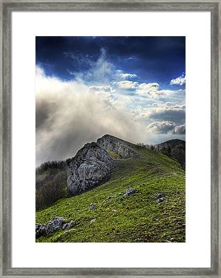Sky Boundary Framed Print