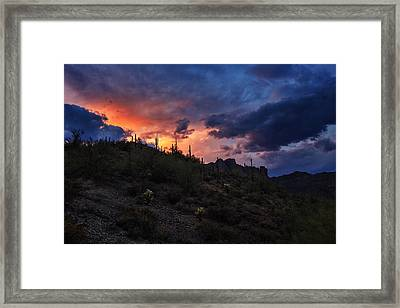 Sky Candy Framed Print