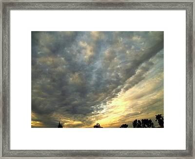 Sky Canvas Framed Print by Glenn McCarthy Art and Photography