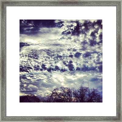 Sky Framed Print by Christy Beckwith