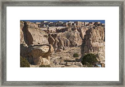 Sky City Framed Print by Jennifer Nelson