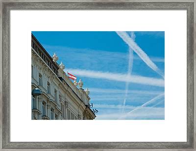 Sky Crossroads Framed Print by Viacheslav Savitskiy