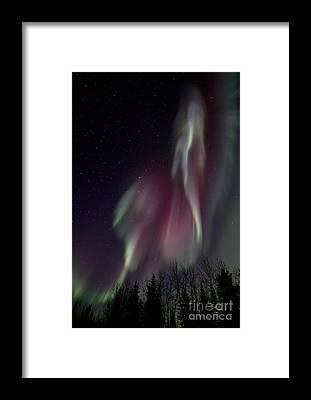 Lightshow Framed Prints