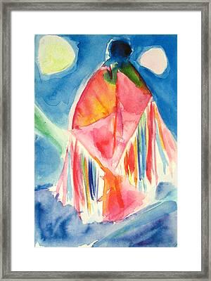 Sky  Dancer Framed Print by Tolere